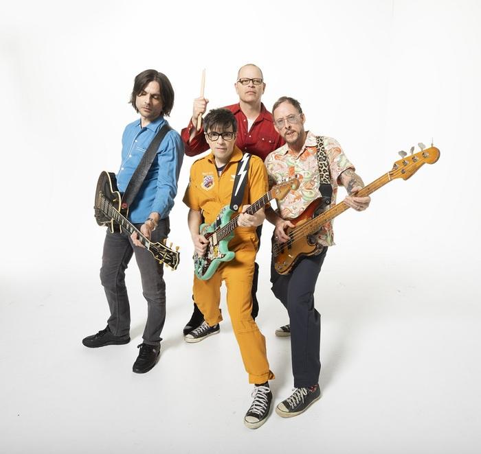 WEEZER、発売延期していたHR/HMへのラヴ&リスペクトが詰まったアルバム『Van Weezer』を5/7リリース
