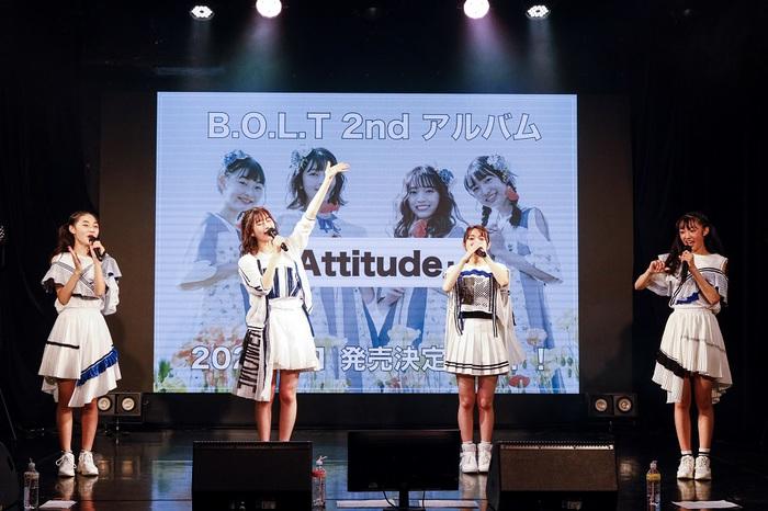 """B.O.L.T、初の主催オンライン・ライヴ""""B.O.L.T Your Choice Online Live""""完遂。2ndアルバム『Attitude』9/1リリース決定"""