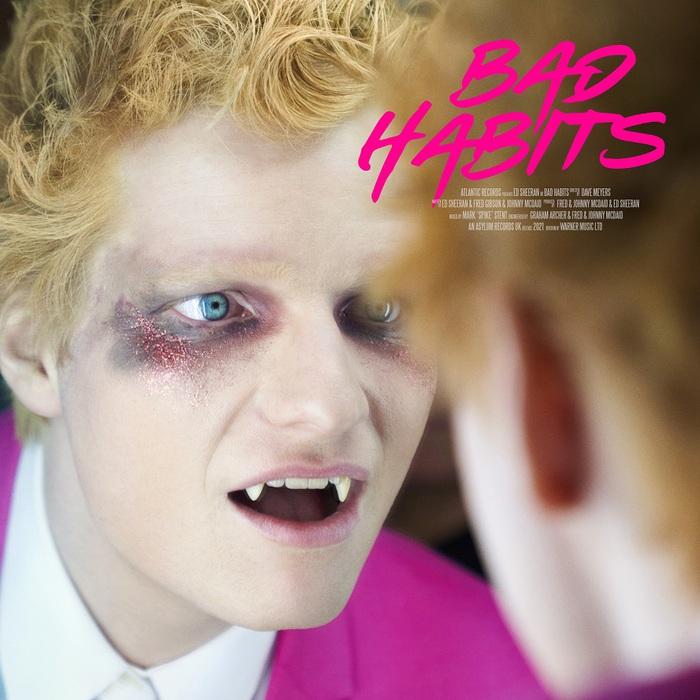 Ed Sheeranが吸血鬼に!?新曲「Bad Habits」MV公開