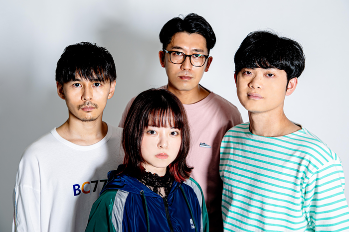"""ナードマグネット、新メンバー さえこ(Ba/Cho)加入発表。アルバム全曲演奏する""""そうふくしゅうツアー""""開催"""