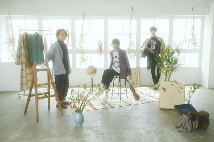 独創的なサウンドと歌声が特徴的な3人組 popoq、7/14発売の1stアルバム『00』より「canvas」先行配信&MV公開。新アー写、アルバム詳細、リリース・ツアーも解禁