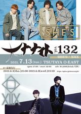 "XIIX × SHE'Sが初ツーマン。7/13渋谷TSUTAYA O-EASTにて""大ナナイトvol.132""開催決定"