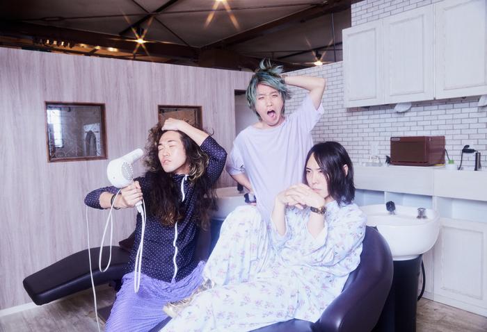 挫・人間、ニュー・アルバム『散漫』リリース当日8/4に渋谷CLUB QUATTROにてワンマン・ライヴ開催決定。最新アー写も公開
