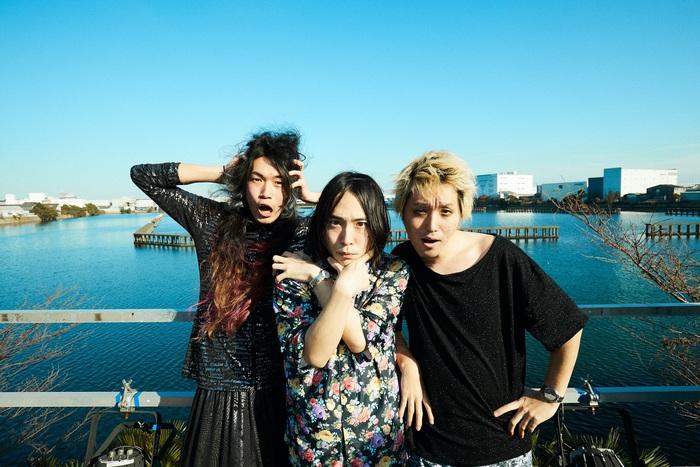 挫・人間、ニュー・アルバム『散漫』8/4リリース決定。初回盤DVDは新木場USEN STUDIO COASTワンマン公演を完全収録