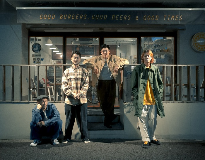 YONA YONA WEEKENDERS、初のコラボ・シングル「Night Rider feat.荒井岳史(the band apart)」MVを8/11にプレミア公開