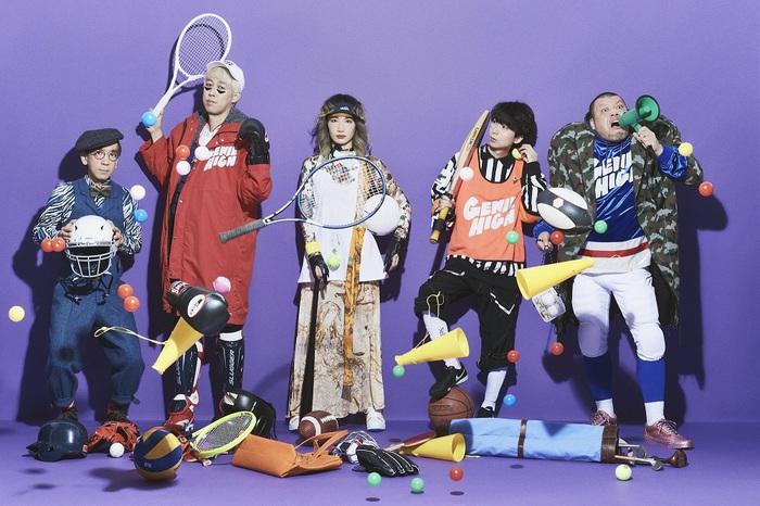 ジェニーハイ、2ndフル・アルバム『ジェニースター』9/1リリース決定。宇宙人キャラクター化したメンバーがコンビニでバイトするジャケット・アートワークも公開