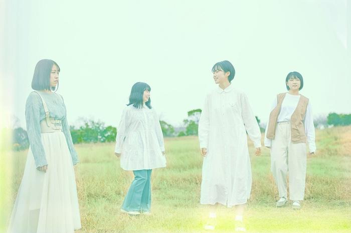"""""""十代白書2021""""グランプリ獲得の4人組バンド ハク。、本日7/14リリースのニュー・デジタル・シングル「hitonatsu」MV公開"""