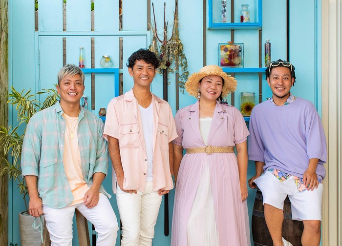 HY、初のサーフ・リミックス・アルバム『HONEY meets ISLAND CAFE presents HY Ocean Blue Sound -The Surf Remixes-』8/25リリース決定