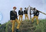 THE BAWDIES、約2年ぶりとなるアルバム『BLAST OFF!』掲げた全国ツアー27公演開催決定。新アーティスト写真も公開