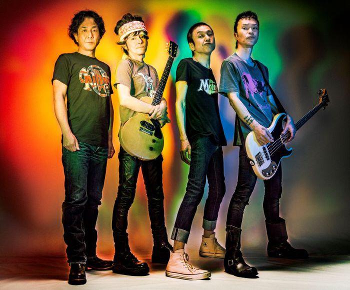 """ザ・クロマニヨンズ、本日8/25リリースの""""SIX KICKS ROCK&ROLL""""第1弾シングルより表題曲「ドライブ GO!」MV公開。ジャケット・デザイン制作密着映像も"""