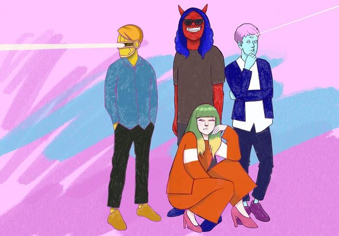 パスピエ、今年3作目となる新曲「ミュージック」8/25デジタル・リリース決定