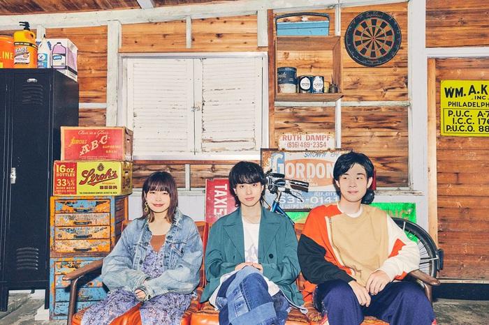 Saucy Dog、5thミニ・アルバム『レイジーサンデー』より「シンデレラボーイ」8/18先行配信決定