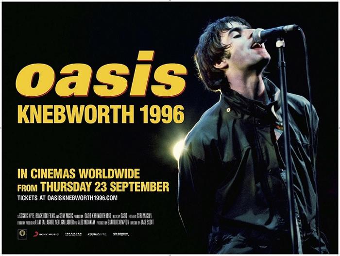 "OASIS、9/23公開の映画""オアシス:ネブワース1996""より「Champagne Supernova」ライヴ映像公開&音源配信スタート"