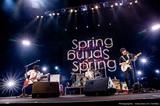 """UNISON SQUARE GARDEN、[Revival Tour """"Spring Spring Spring""""]より福岡公演ライヴ映像を期間限定公開"""