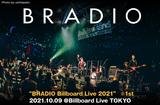 BRADIOのライヴ・レポート公開。楽曲の持つ可能性を発見し、シックでスウィートでソウルフルなビルボード仕様のアンサンブルを聴かせた、濃密な初ビルボードライブ東京公演をレポート