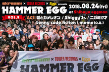 """HAMMER EGG vol.9"" 特大パネル"