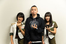 amiinA×木暮栄一(the band apart) コラボサイン色紙+amiinA ツアーTシャツ