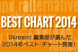 Skream! BEST CHART 2014